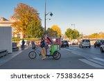 paris  france    november 7 ... | Shutterstock . vector #753836254