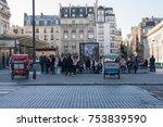 paris  france    november 7 ... | Shutterstock . vector #753839590
