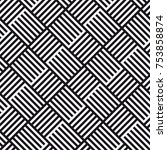 vector seamless pattern.... | Shutterstock .eps vector #753858874
