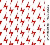 seamless pattern. lightning....   Shutterstock .eps vector #753860689