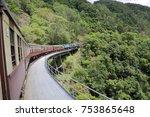 kuranda scenic railway   Shutterstock . vector #753865648