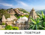 kumbhalgarh fort in rajasthan  ... | Shutterstock . vector #753879169