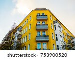 Yellow Corner Building With...