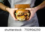 delicious western fresh... | Shutterstock . vector #753906250