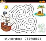 cartoon vector illustration of... | Shutterstock .eps vector #753908836