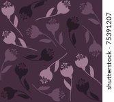 flowers background | Shutterstock .eps vector #75391207