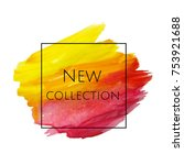 new collection banner  | Shutterstock . vector #753921688