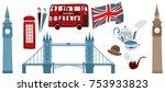 vector flat united kingdom ...   Shutterstock .eps vector #753933823