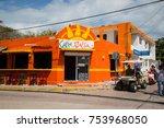 isla mujeres  cancun  mexico  ...   Shutterstock . vector #753968050