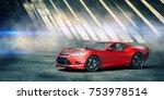 3d rendering of a brand less... | Shutterstock . vector #753978514