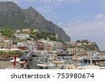 capri  italy   june 26  2014 ... | Shutterstock . vector #753980674