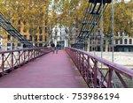 lyon  france  november 5  2017  ... | Shutterstock . vector #753986194