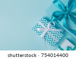 christmas concept   colorful... | Shutterstock . vector #754014400