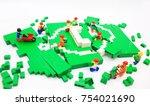 hong kong  nov 1  lego... | Shutterstock . vector #754021690