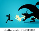 business concept vector... | Shutterstock .eps vector #754030000