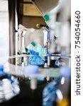 bottling plant   water bottling ... | Shutterstock . vector #754054660
