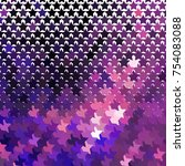 abstract background with stars. ... | Shutterstock . vector #754083088