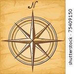 compass | Shutterstock .eps vector #75409150