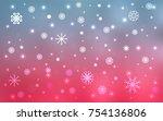 light blue  red vector...   Shutterstock .eps vector #754136806