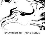 white and black digital... | Shutterstock . vector #754146823