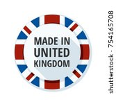 made in united kingdom of great ... | Shutterstock .eps vector #754165708