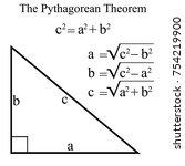 The Pythagorean Theorem ...
