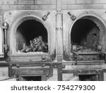 cremation ovens at the... | Shutterstock . vector #754279300