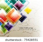 eps10 multicolor futuristic...