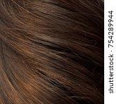 long brown hair as background   Shutterstock . vector #754289944