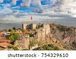 ankara castle  ankara  turkey... | Shutterstock . vector #754329610