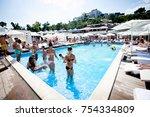 odessa  ukraine jujy 6  2014 ...   Shutterstock . vector #754334809