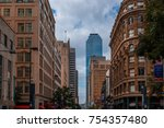 dallas  texas   usa   november... | Shutterstock . vector #754357480