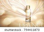 elegant essence ads  champagne... | Shutterstock .eps vector #754411873