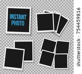 illustration of photo frame... | Shutterstock . vector #754459816