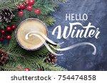 hand lettering inscription ...   Shutterstock . vector #754474858