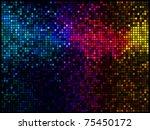 multicolor abstract lights... | Shutterstock .eps vector #75450172