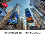 new york city   july 29  2017 ... | Shutterstock . vector #754506430