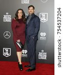 dany garcia and henry cavill at ... | Shutterstock . vector #754537204