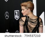 amber heard at the world... | Shutterstock . vector #754537210