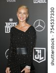 connie nielsen at the world... | Shutterstock . vector #754537330