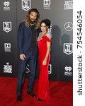 jason momoa and lisa bonet at... | Shutterstock . vector #754546054