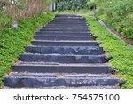 Stairway Pathway In The Garden...