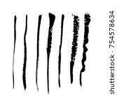 grunge brush stroke   Shutterstock .eps vector #754578634