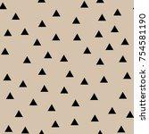 geometric seamless pattern....   Shutterstock .eps vector #754581190