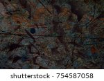 abstract multicolor grunge... | Shutterstock . vector #754587058