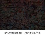 color grunge wall background.... | Shutterstock . vector #754595746