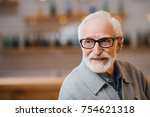 close up portrait of happy... | Shutterstock . vector #754621318