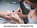 professional procedure. the... | Shutterstock . vector #754626796