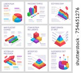 isometric diagrams infographics ... | Shutterstock .eps vector #754651276