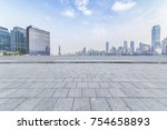 panoramic skyline and buildings ... | Shutterstock . vector #754658893